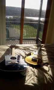Guitars at Cols house